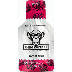 Chimpanzee Energy Gel Box 25x35g, Forest Fruit (Vegan)